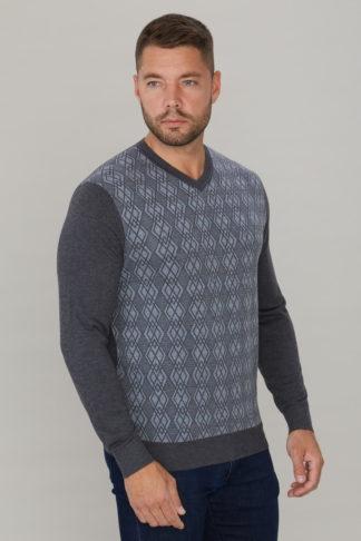 свитер полушерстяной