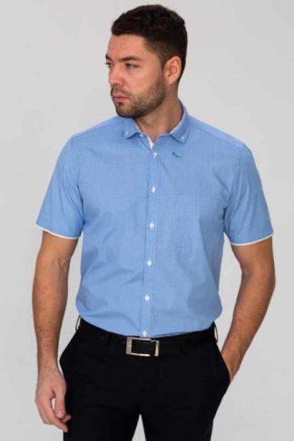 мужская рубашка короткий рукав
