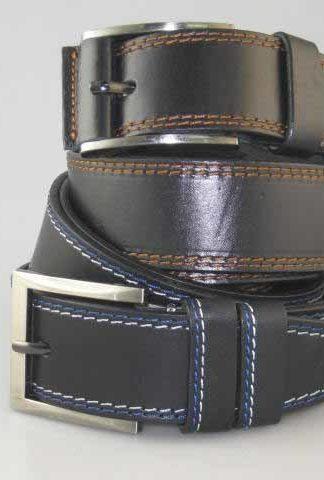 джинсовый кожаный ремень